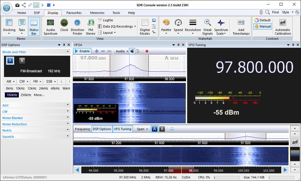 DL7UKM's Collection of Amateur Radio Links ---> SDR Software